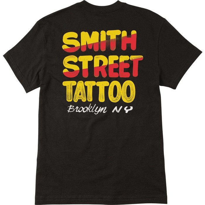 RVCA SMITH STREET NURSE SIGN 1 T-SHIRT