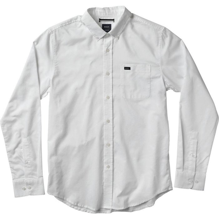 RVCA THAT'LL DO OXFORD LS