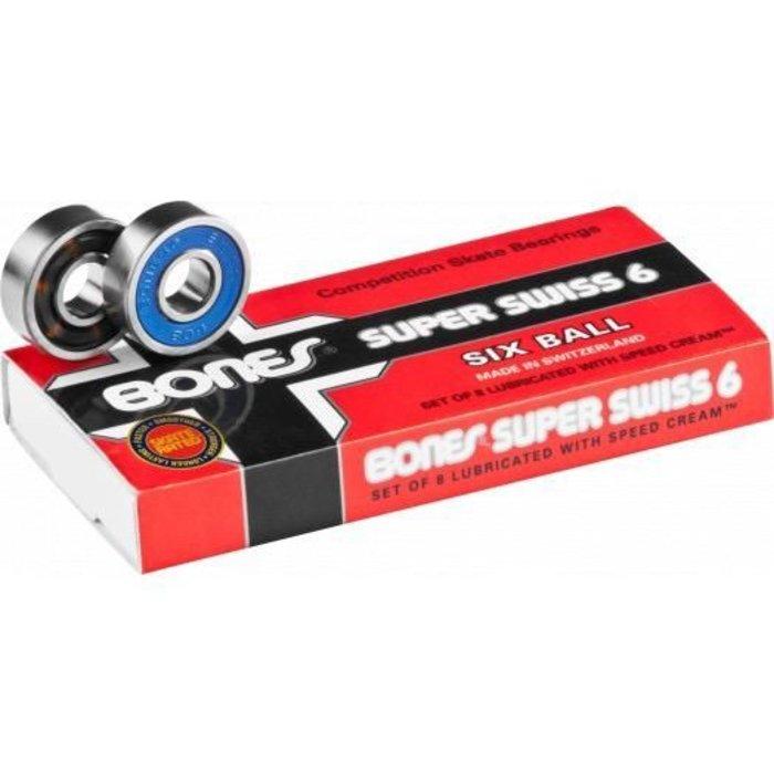 Bones super swiss bearings 6-ball