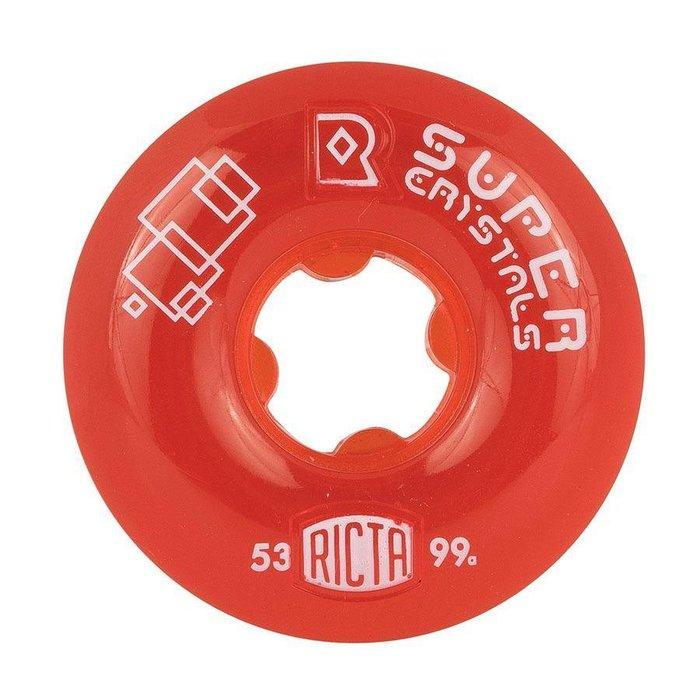 Ricta SUper Crystals 99a , red, 53