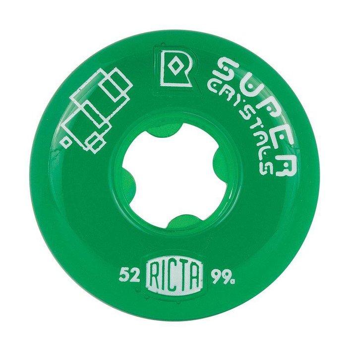 Ricta SUper Crystals 99a , green, 52