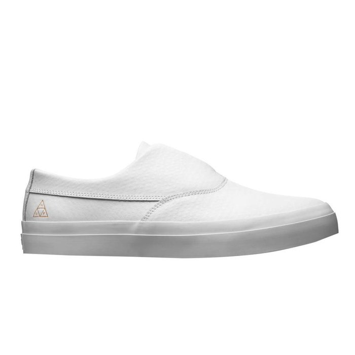 HUF - Dylan Slip On White 100% Leather