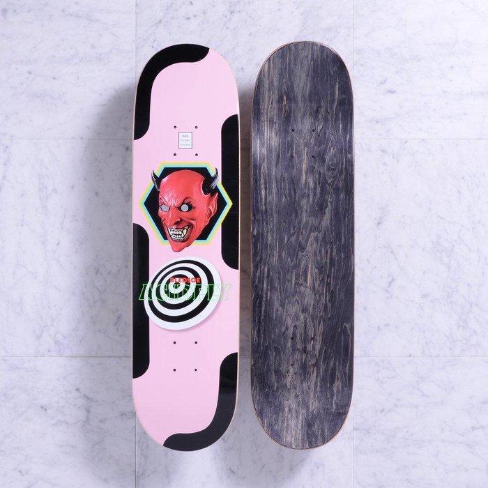 Quasi deck , Acid (pink), 8.25
