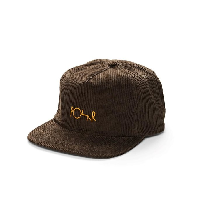 POLAR CORD 5 PANEL , BROWN, O/S