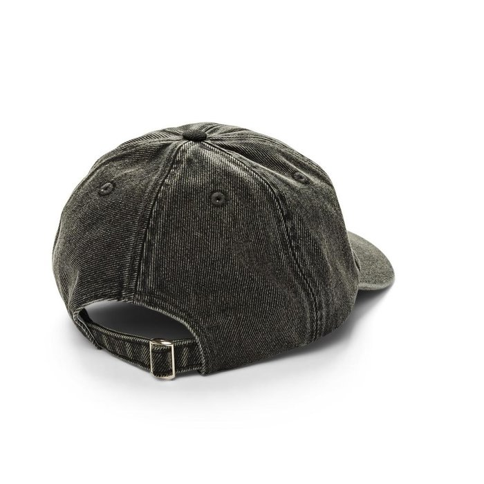 POLAR DENIM CAP , BLACK, O/S