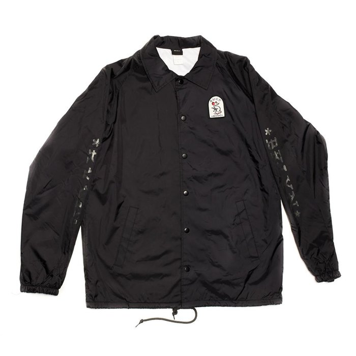 RVCA KRAK RAT COACHES JACKET