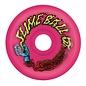 Santa Cruz Slime Balls Vomit wheels , Neon Pink, 60