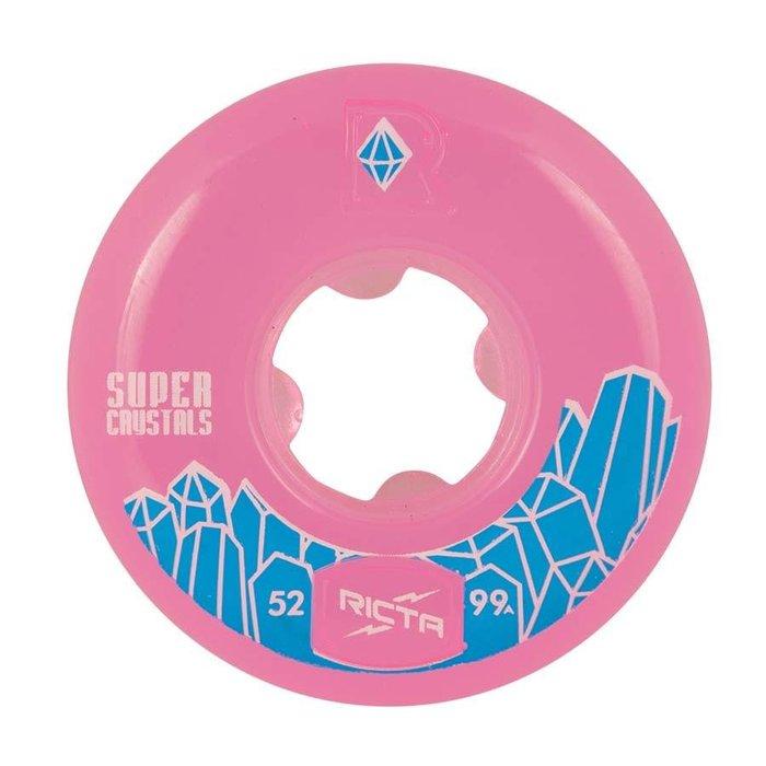 Ricta Super Crystals 99a , fuchsia, 52