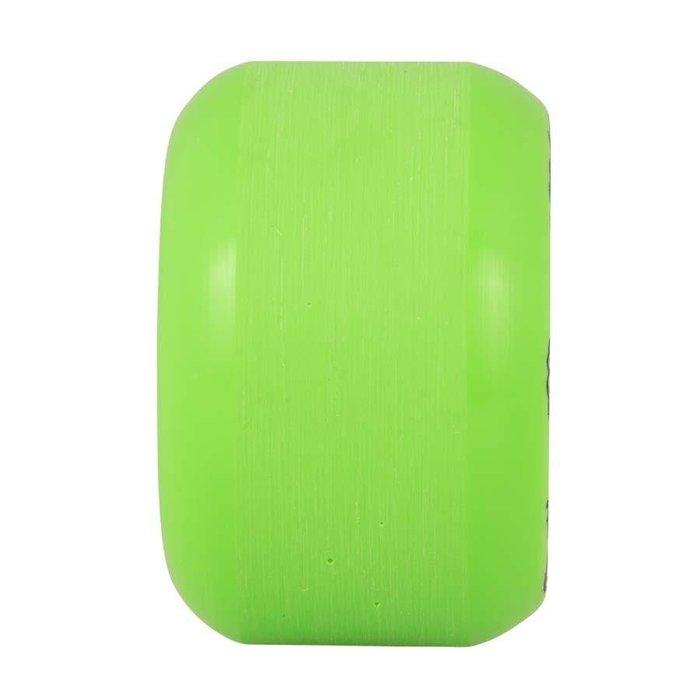 Santa Cruz Slime Balls Vomit wheels , MINI GREEN GLOW, 58