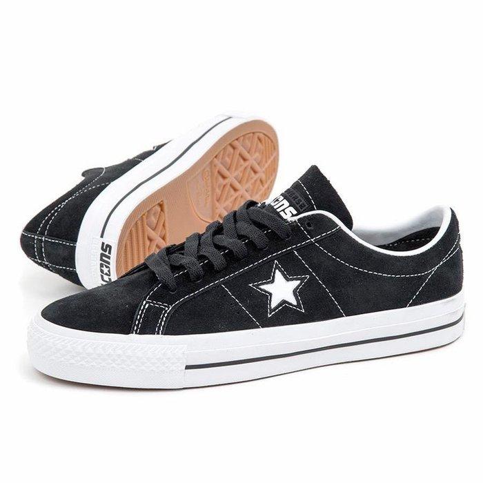 Cons ONE STAR PRO OX BLACK/WHITE/WHITE