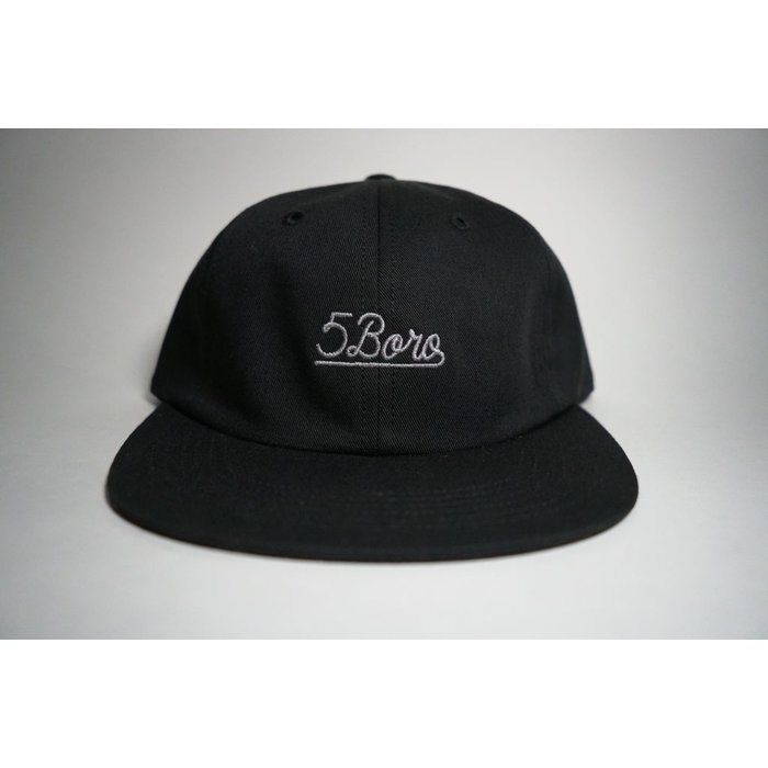 5BORO - Six Panel Script Hat