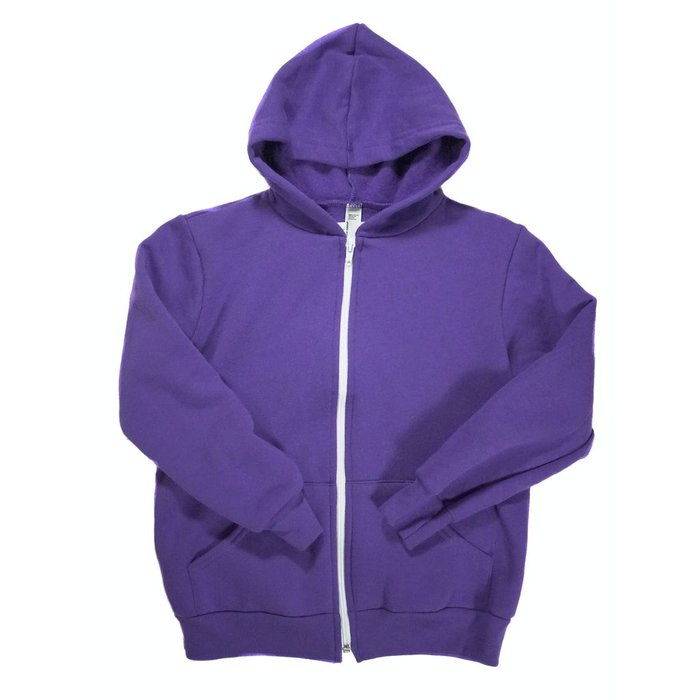 KCDC - Plain N' Simple Kids Zip Up Hoodie