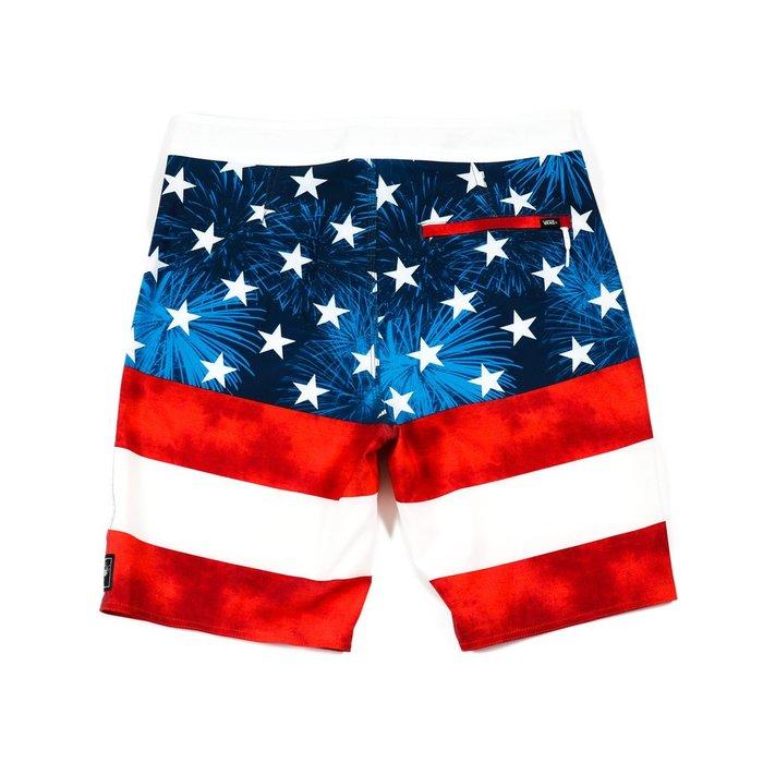 Vans - Era Boardshort (American<br /> Flag)