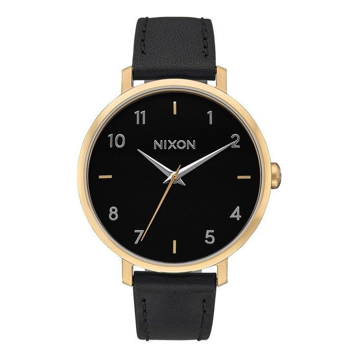 Nixon Arrow Leather Gold/Black