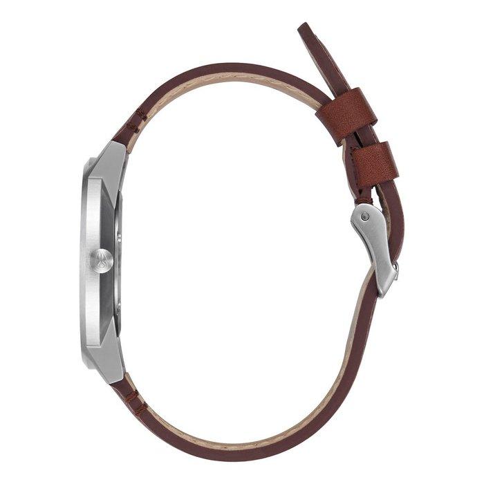 Nixon Porter leather silver/brown