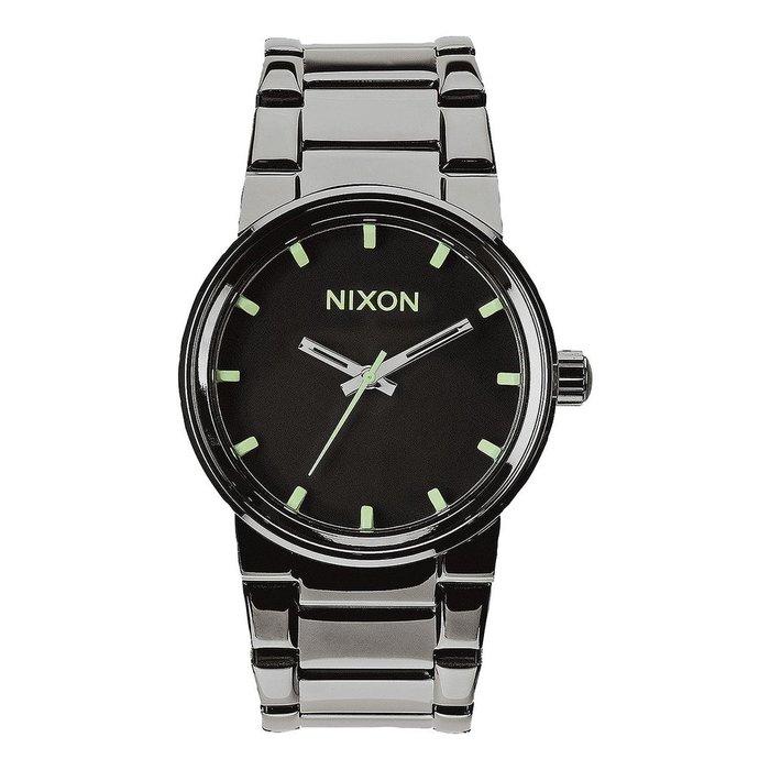 Nixon Cannon Polished Gunmetal/Lum