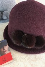 Canadian Hat Company Ltd. 100% Wool with Mink Trim