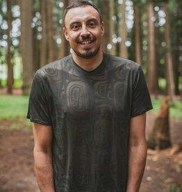 Chloe Angus Designs Chloe Angus Men's T-Shirt - Modern Haida Print