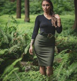 Chloe Angus Designs Chloe Angus Fleece Peg Skirt - ON SALE !!