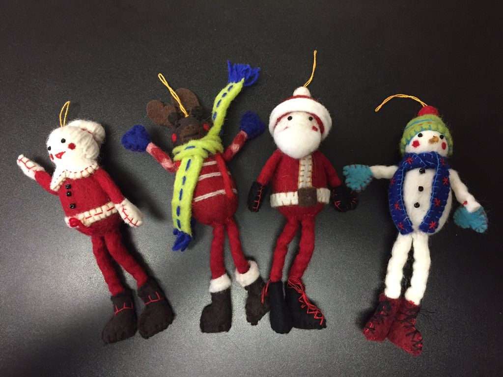 Icelandic Designs Newari Christmas Characters