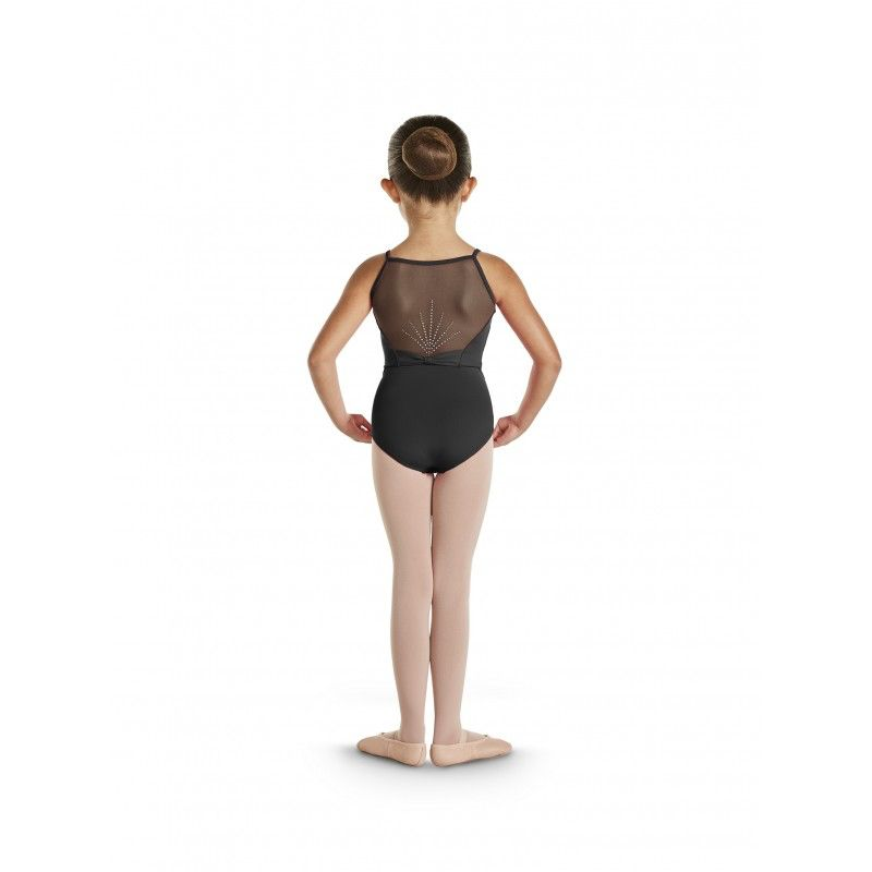 Bloch Bloch CL4847 Diamante Deco Bow Back Detail Cami Bodysuit/Leotard