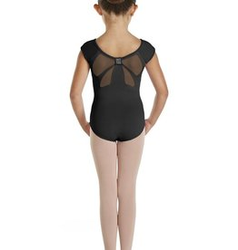 Bloch Bloch CL9822 Diamante Bow Back Cap Sleeved Leotard/Bodysuit