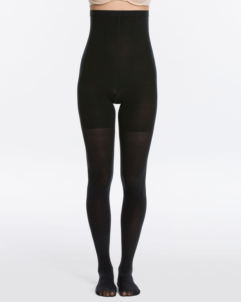 Spanx Spanx FH4315 High Waisted Mid Thigh Shaping Luxe Leg Tights