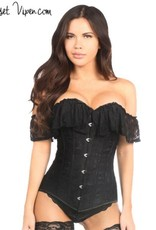 Daisy Corsets Lavish Black Lace Corset
