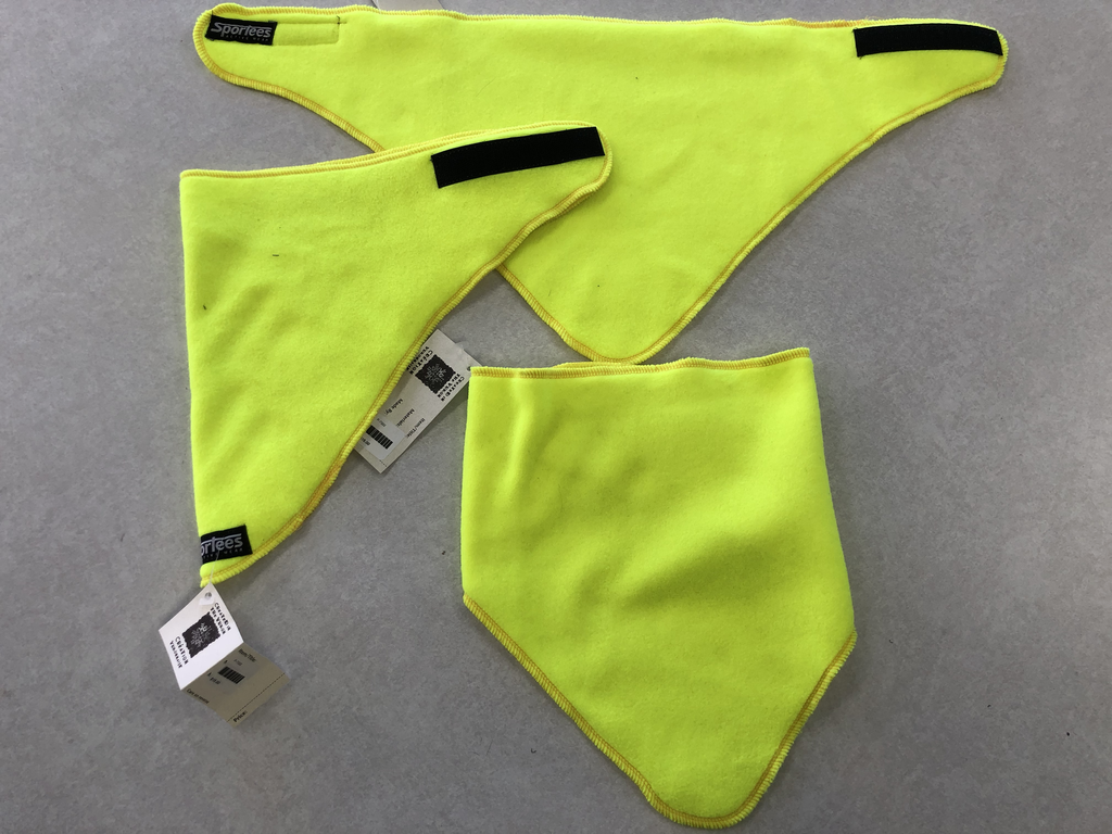 Sportees 200 Weight Fleece Triangle Neck Warmer w/ Velcro- One Size