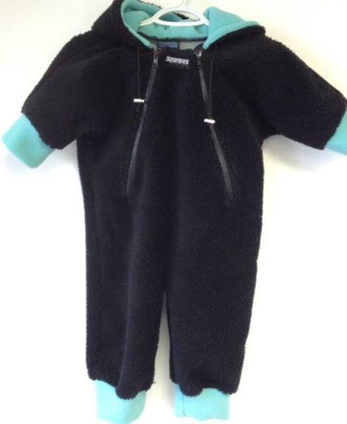 Sportees Sportees Childrens Bunting Bag- Fleece Baby Suit- 12 Month to 2 Years Old