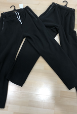 Sportees Black Wind bloc pants made with Polartec LLC Fleece.
