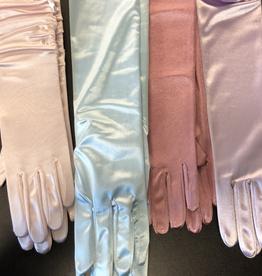 Satin Gloves - Soft Colours