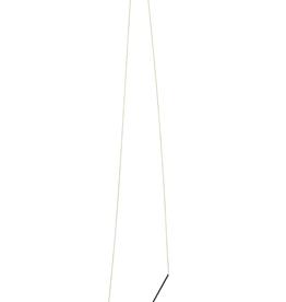 ELK Gold/Blk/Rose Gold Metal Necklace