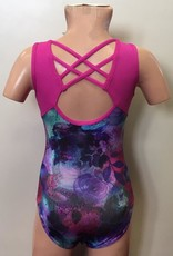 Capezio Capezio Printed with Back Criss-Cross Straps