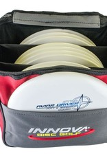 Innova Discs The Innova Standard Bag is a high quality, durable, and lightweight bag. It is designed for players that do not wish to carry a large bag.