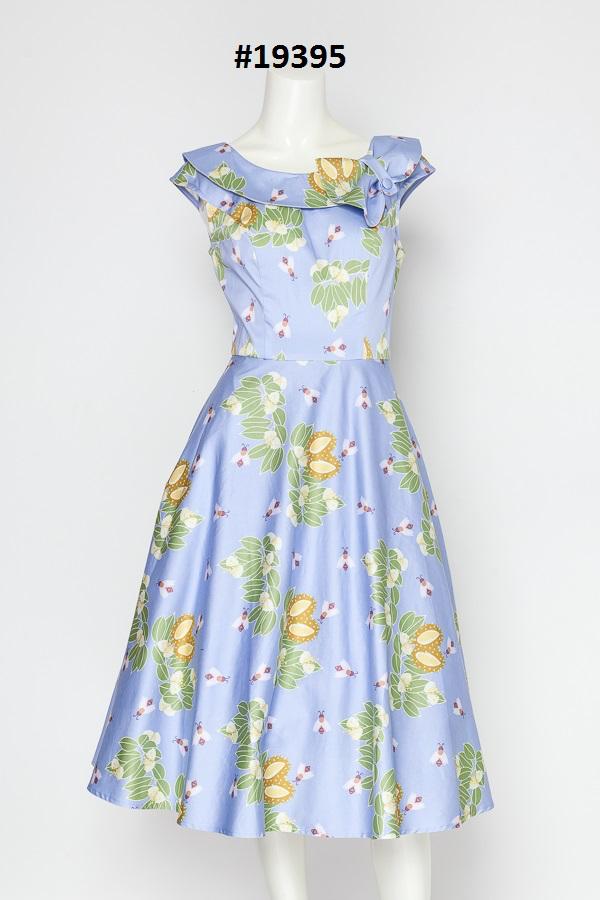 Miss Lulo Custom Sweven Print Pin Up Dress