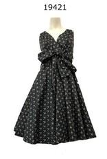 Miss Lulo Miss Lulo Pin Up Dress Bee Print