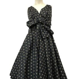Miss Lulo Miss Lulo Pin Up Dress Bee Print