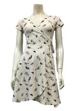 Miss Lulo Miss Lulo Custom Sweven Prints Dress Garden Print