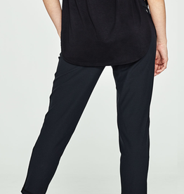 b4345bfeb93a1 The perfect travel buddy, these pants move with you. Slipping on these easy  medium rise pant with a specialty stretch waistband to move with you.