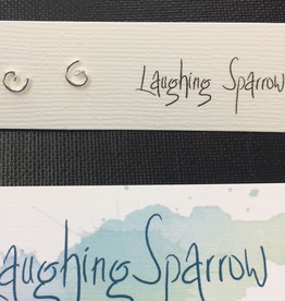 Laughing Sparrow Laughing Sparrow 170-08 Tiny Spiral Studs