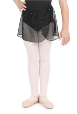 Capezio Glitter Rose Pull On Skirt - Girls<br /> <br /> This skirt will make every pirouette shimmer. The skirt is made of glitter mesh and features an easy pull on waistband. Pairs effortlessly with any of the leotards from the Glitter Rose collection.