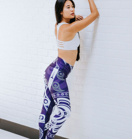 NoMiNoU Nominou Leggings 2018-HUMMINGBIRDPURPLE-S