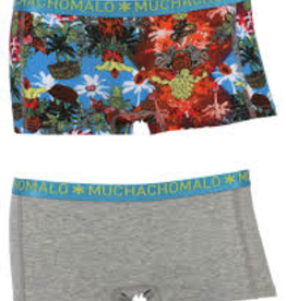 Muchachomalo Muchachomalo-Women's-Boy-Shorts-JUNGLE-XL