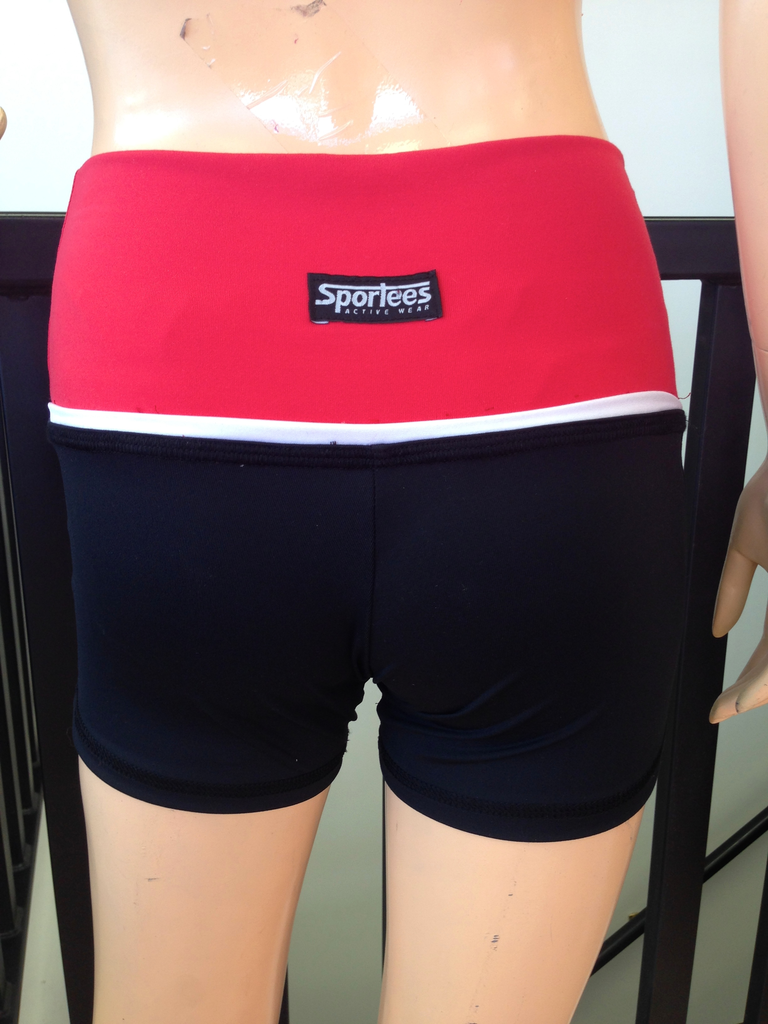 Sportees Sportees-Shorts-Yoga- Size XL-Extra