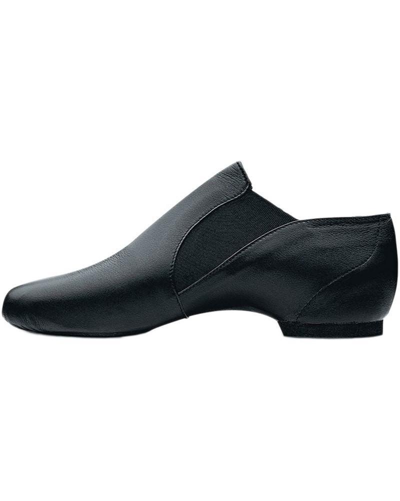 Bloch Bloch Elasta Bootie Slip on Leather Jazz Shoes