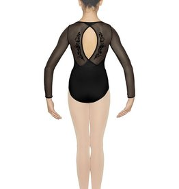 Bloch Bloch CL4809 Bella Flock Printed Long Sleeve Leotard/Bodysuit