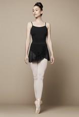Bloch Features<br /> <br /> Low Waist<br /> Short length skirt<br /> Nylon mix <br /> <br /> Fabric<br /> <br /> Main - 90% Nylon, 10% Spandex mesh<br /> Contrast - 90% Nylon, 10% Spandex