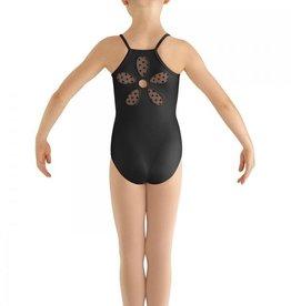 Bloch Bloch Mesh Flower Back Cami Leotard/Bodysuit