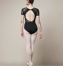 Bloch Bloch Mirella M5073LM Olivina V-Neck Cap Sleeved Leotard / Bodysuit